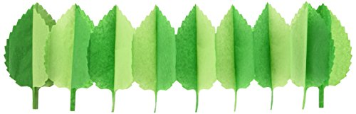 Beistle 54240 Spring Leaf Garland, 7 by 12-Feet