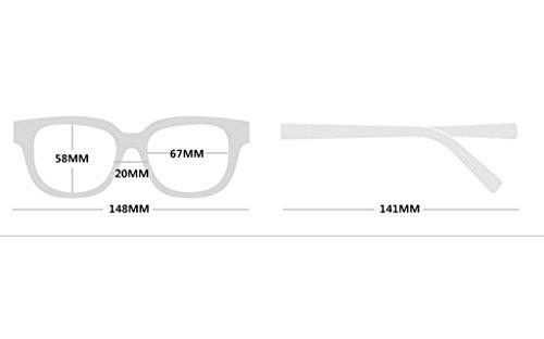 Sunglasses D Irregular Polygonal Couleur Soleil des Lunettes Lunettes B de Frame BqwS7H