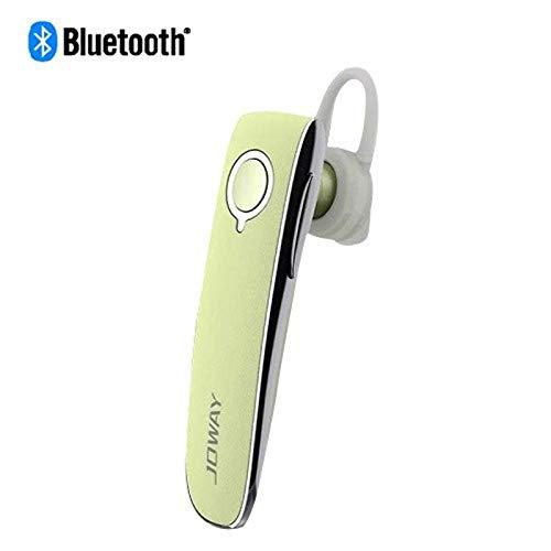Insten Rechargeable 4.1 Wireless Bluetooth Stereo Headset in-Ear Earphone Earbud Headphone - Baby Yellow