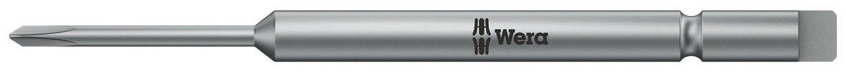 Wera 05135275001 CJ Bits for Phillips screws 851//9 half-moon PH 0x64mm