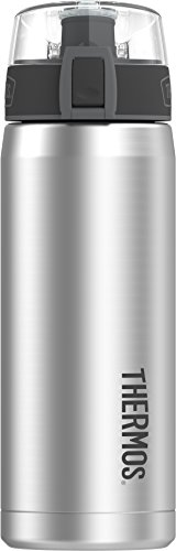 Thermos 18 Ounce Hydration Bottle, Stainless Steel