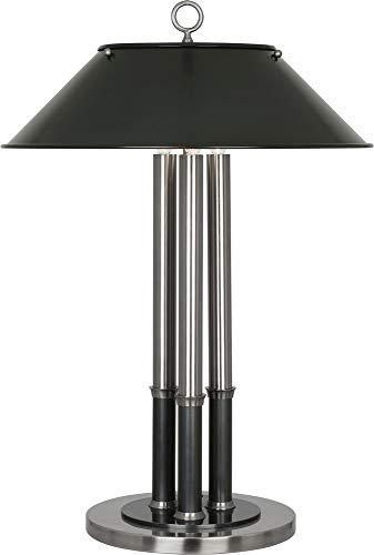 Robert Abbey S702 Aaron - Three Light Table Lamp, Dark Antique Nickel/Deep -