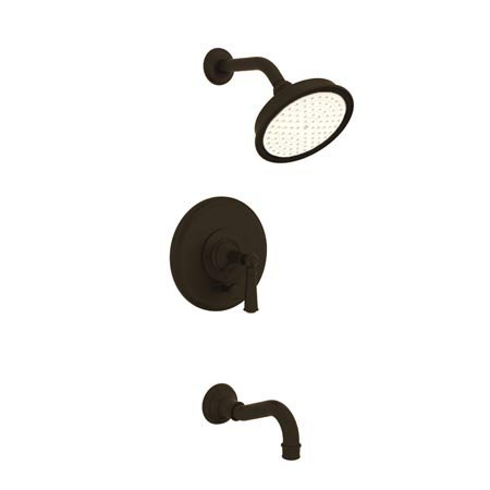 Newport Brass 3-2472BP Single Handle Tub and Shower Valve Trim with Tub Spout, S, Oil Rubbed Bronze