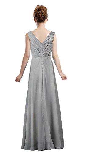 Long Dress Bride The Cap s Gray Evening of Mother Sleeve Women ANTS CwABqCv