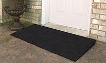Rubber Threshold Ramps (Set of 2) Size: 1.5''W