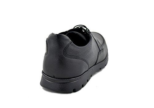conbuenpie by BeCool–Schuh Leder schwarz mit Schnürung