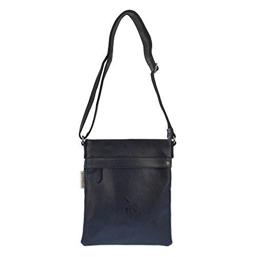 U.S.POLO ASSN. Umhängetasche mit aufgesetzter Taschenfach 25x29x cm