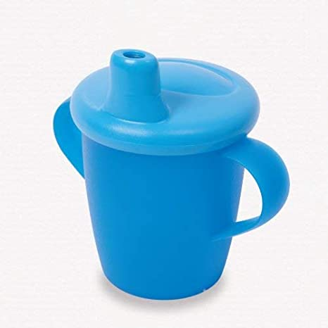 Classic  No Spill Leak Proof Handles Haberman Cup Sippy Beaker Cow