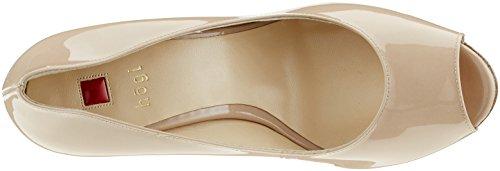 Högl 3-10 9804 1800, Zapatos de Punta Descubierta para Mujer Beige (nude1800)