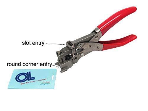 Oregon Lamination Premium Hand Held Multitool for 5mm Radius Corner Round Punch OR Badge Slot Punch