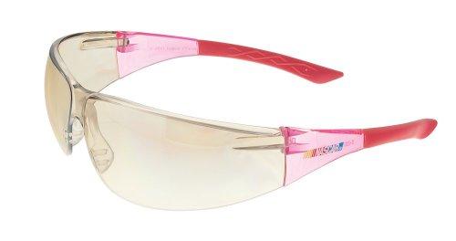 Encon Nascar 427 Wraparound Safety Eyewear, Scratchcoat Indoor-Outdoor Lens, Pink Frame (Pack of 1)