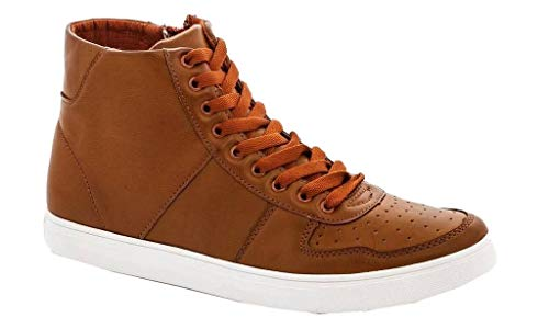 Franco edward Chukka Fashion up Tan Casual 4 Lace Leather Sneakers Chukka Shoes Suede Vanucci Vegan Men's rnPqSpr6