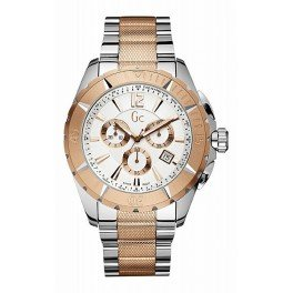 X53002G1S Guess Collection Sport Class Men's Watch Two Tone 45mm