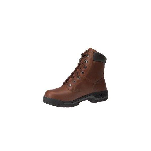 Wolverine Mens 8 Harrison Steel Toe Boots Brown tLZq5kvtY