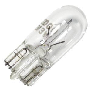 Bulbrite 715503 - 3 Watt Halogen Light Bulb - T3.25 - Wedge Base - Xenon - Clear - 20,000 Life Hours - 23 Lumens - 12 Volt