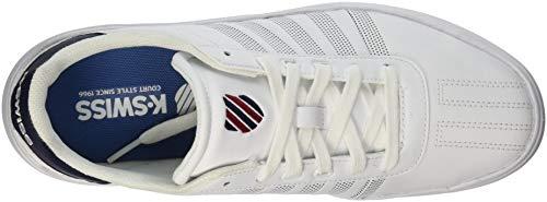 swiss Luce Donne Sneaker Delle Bianco Rosso L Navy Patrimonio K 4wIngqE7