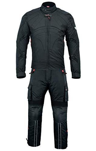 BULLDT 2-teiler Motorradkombi Cordura Textilien Motorradjacke + Motorradhose, 48/S