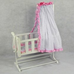 Regal Doll Carriages Stephanie Doll Cradle Wicker Furniture