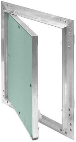 Para paneles de yeso paneles de acceso escotilla de inspección aluminio revisión secreto [blanco, 400 x 400 KRAL12]: Amazon.es: Bricolaje y herramientas