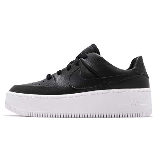 NIKE Air Force 1 Sage Low Women's Shoes Black/White ar5339-002 (9 B(M) US)