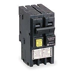 Square D Ground Fault Circuit Breaker, HOM250GFI