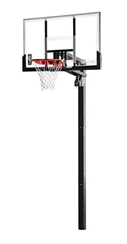 (Spalding 54-Inch In-Ground Basketball System with Acrylic Backboard )