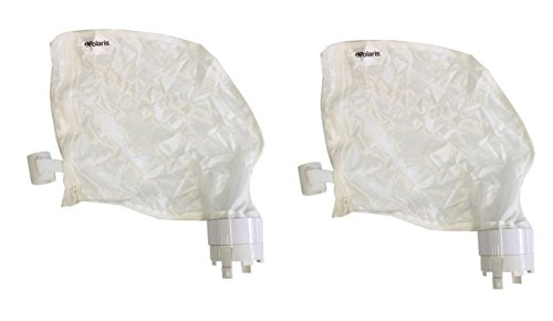 2) Polaris 91001021 360 380 Replacement Pool Cleaner Zippered Bags - Automatic Polaris Pool 360 Cleaner