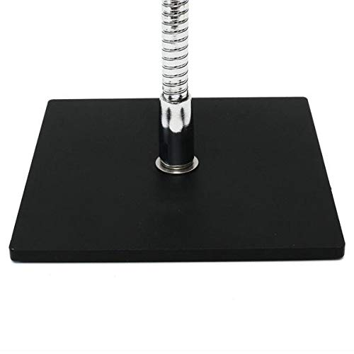 SnakeClamp Rigid Arm Webcam Stand with Square Base