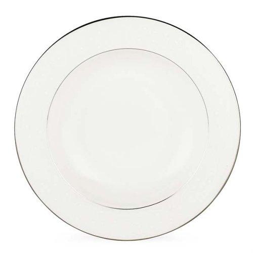 Lenox Floral Veil Bone China Platinum Banded Pasta Bowl/Rim Soup [並行輸入品] B013D0XWNA