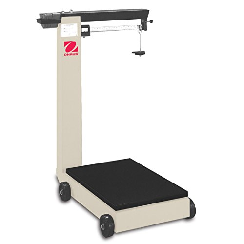 Ohaus Defender 3000 Mechanical Bench D500 Mobile Floor Beam Scale, 1,000lb x 8oz