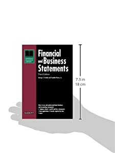 Financial and Business Statements (Barron's Business Library Series) from Barron's Educational Series