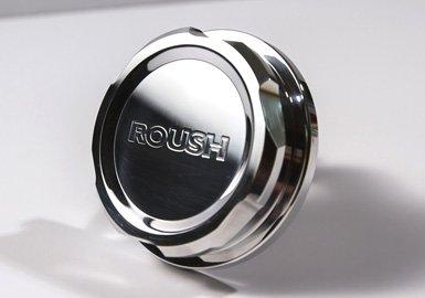 Roush 421261 Washer Fluid Cap, Billet, - Fluid Cap Billet Washer