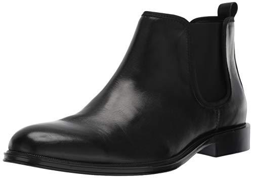 (Kenneth Cole REACTION Men's Zac Chelsea Boot, Black, 8 M US)