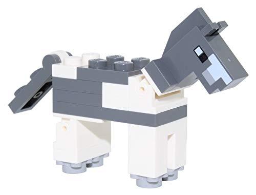 LEGO Minecraft: minifigura de caballo gris