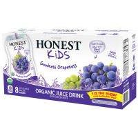 Kids Drink, 95% organic, Good Grape, 8/6.75Fluid Oz (pack of 4 )