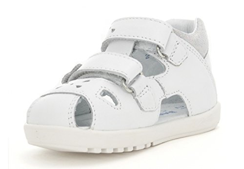 Bartek Girls Leather Shoes Fisherman Sandals 11695//B88 White Toddler//Little Kid