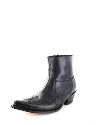 Sendra Boots 7783 Stivaletto Negro Snowbut Nero Per Donna E Uomo Nero Nero