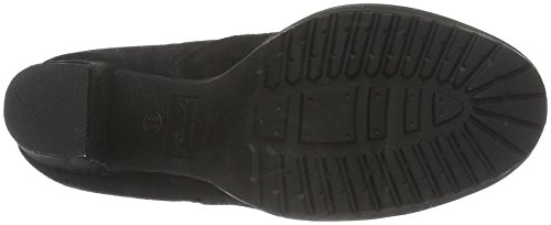 XTI 65200, Botas Cortas de Tacón Mujer Negro (Black)