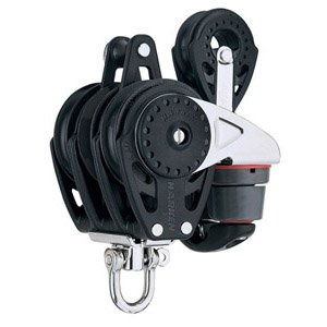 Harken 57 mm Carbo Triple w/ Ratchamatic?, Cam & 40 mm - 40 Carbo Block Mm