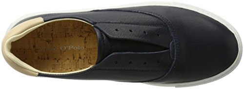Marc O'Polo 70114053501102 Sneaker - Zapatillas Mujer Azul (Washed Blue)