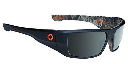 Spy Optic Dirk Polarized Wrap Sunglasses, Decoy/Black/Camo, 64 - Sunglasses Polarized Dna