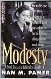 Modesty, Nan M. Pamer, 0932581625