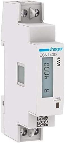Stromz/ähler,Jectse DDS528 230VAC 5-32A 35 mm Hutschienenmontage LCD digitaler Wechselstromz/ähler Stromz/ähler Wattmeter Energiez/ähler