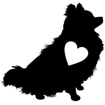 Amazon Com Bluegrass Decals A1190 Pomeranian Pom Mom Dog