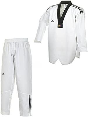 adidas TKD WTF DoBok Adiclub - Negro Solapa: Amazon.es: Deportes y ...