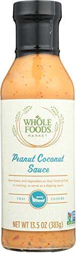Whole Foods Market, Peanut Coconut Sauce, 13.5 oz (Best Thai Salad Dressing)