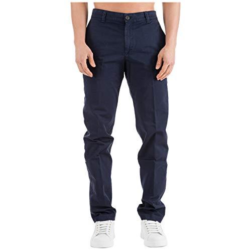 30 Uomo Kenzo Chino Blu Pantalone W wqEI7E