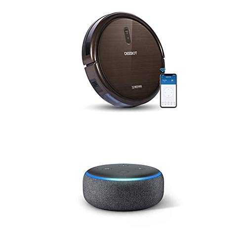 ECOVACS DEEBOT N79S Self-Charging Vacuum Cleaner + Echo Dot (3rd Gen) $174.99 **Today Only**
