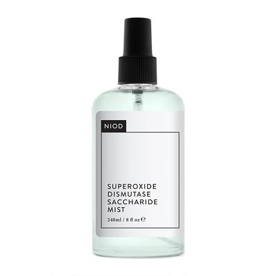 NIOD Superoxide DISMUTASE SACCHARIDE Mist 240ml - Protects Skin 's Water-Retention Capacity—Essential with Enhanced Skin Turnover.