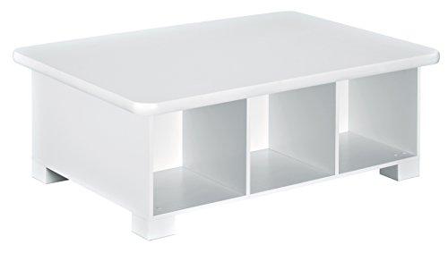 ClosetMaid 1599 6-Cube Activity Storage Table, White